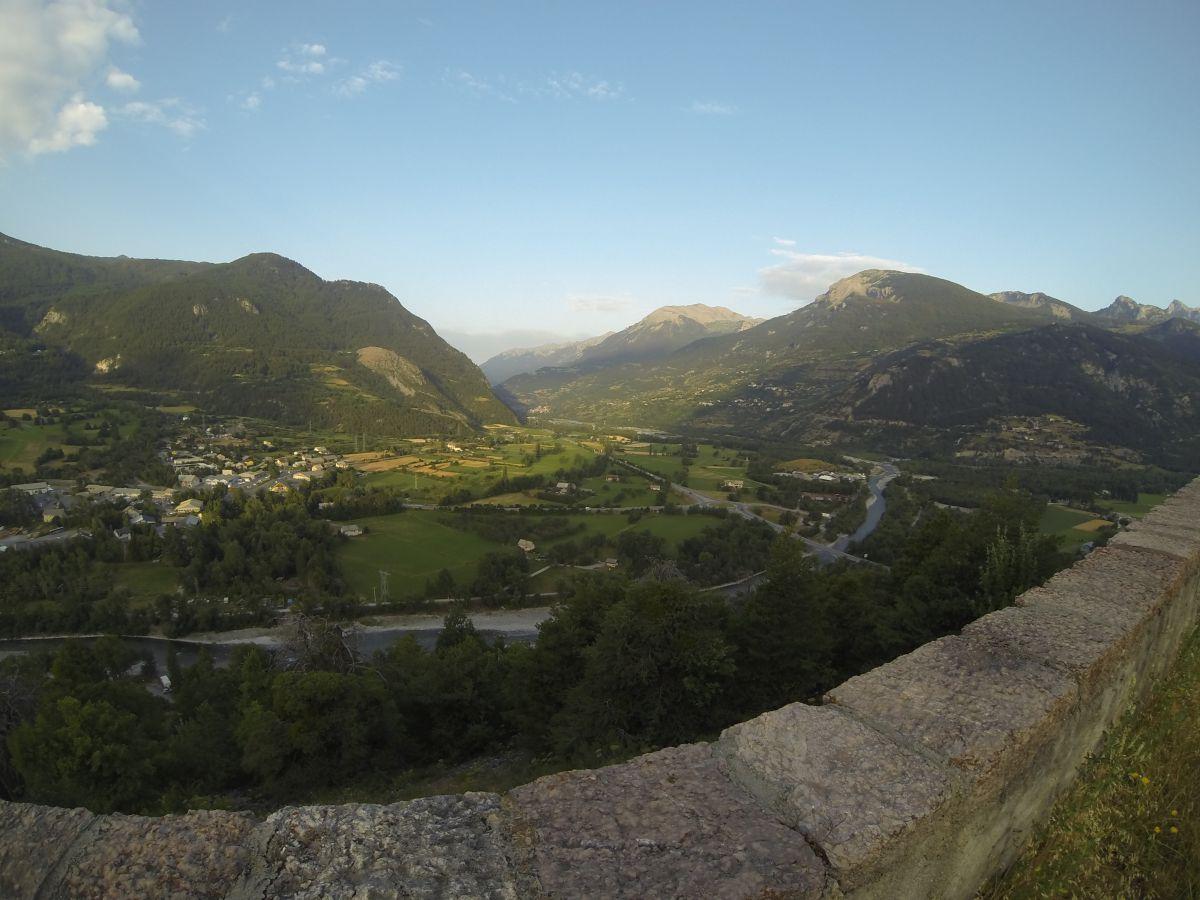 Vue du Mont-Dauphin